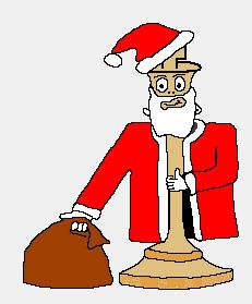Der Nikolaus - unser Maskottchen